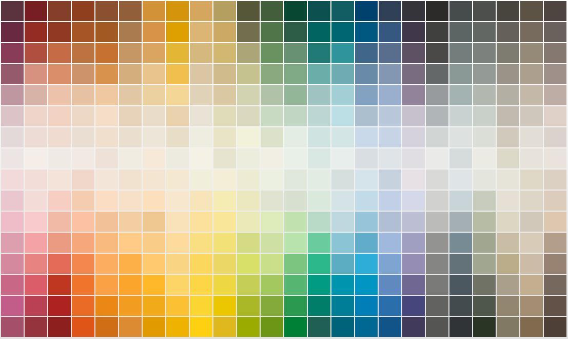 Vision on living Kleur kiezen is kijken voelen en durven