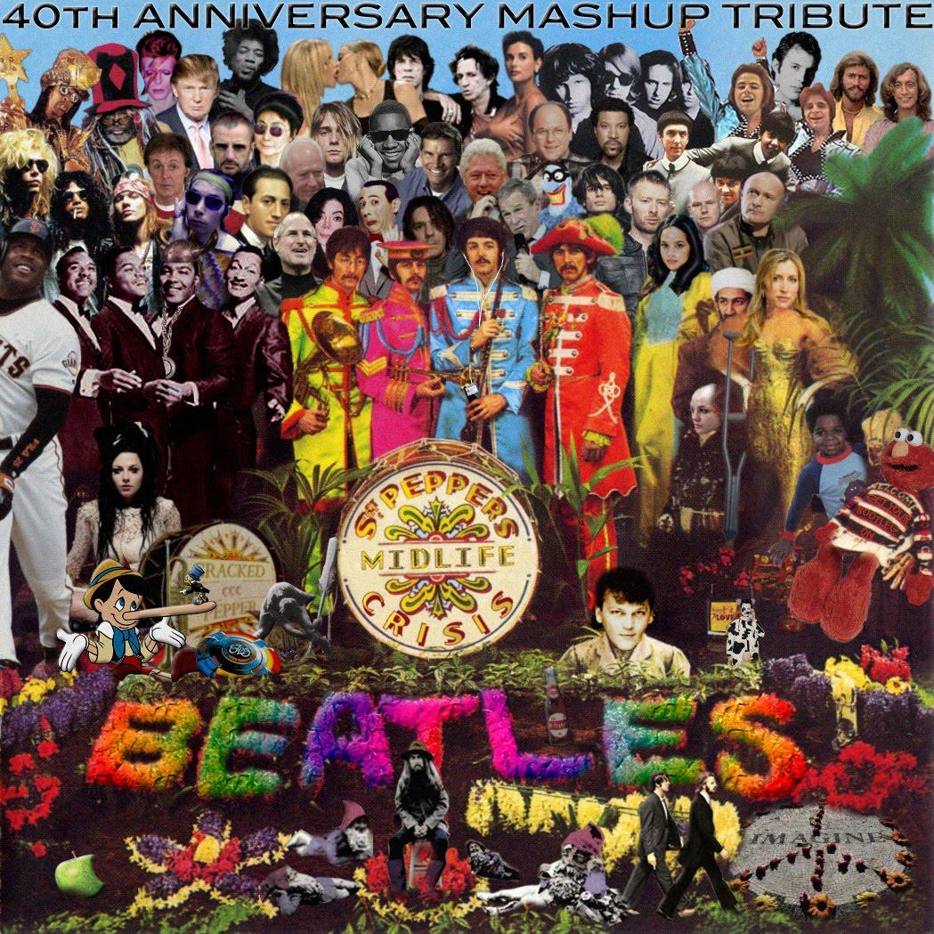 Beatles Lonely Hearts : advanced a2 media production album cover analysis ~ Vivirlamusica.com Haus und Dekorationen