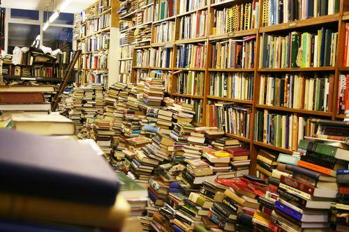 Foto bij Waarom werken in een boekwinkel eigenlijk een marteling is