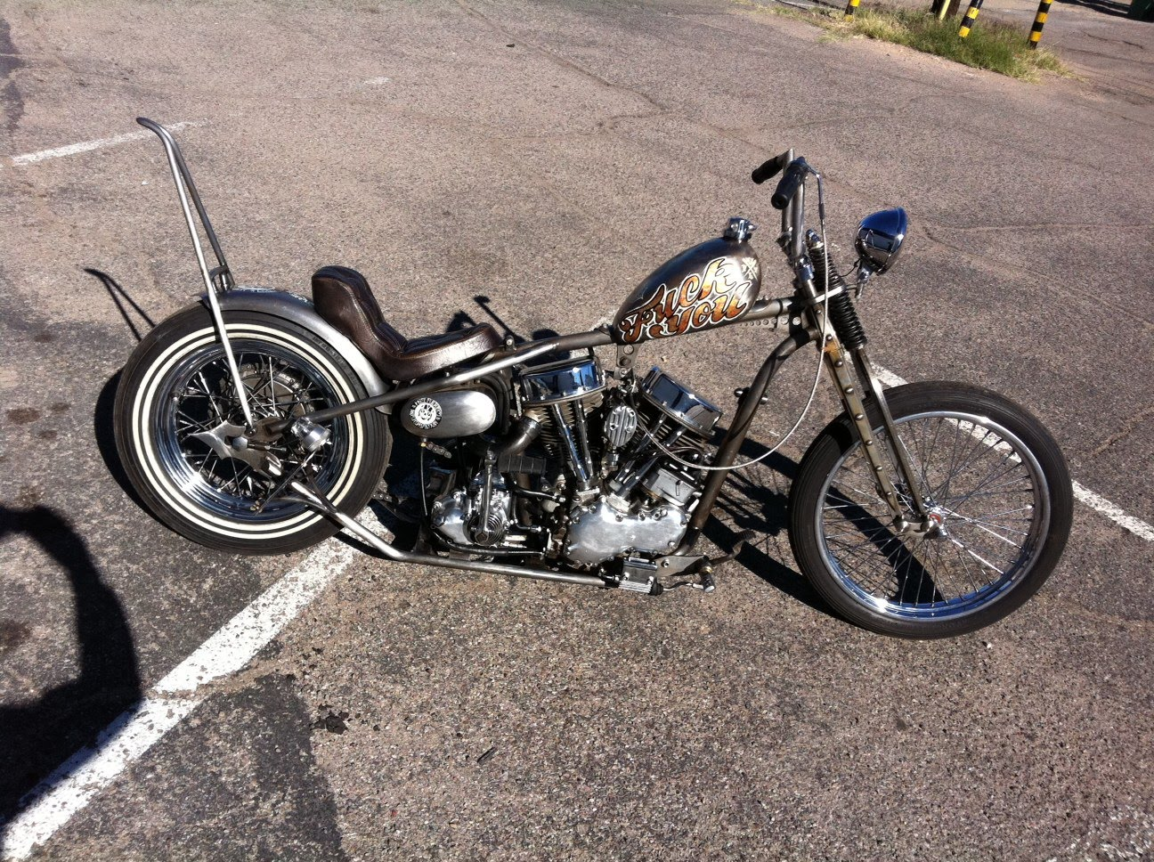 THINGS I H8 (THINGS I HATE): 1953 Panhead for sale!!