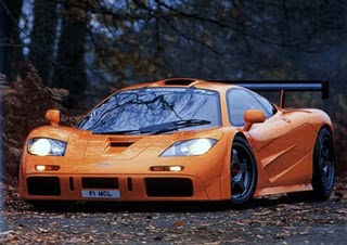 popular modification: orange mclaren f1