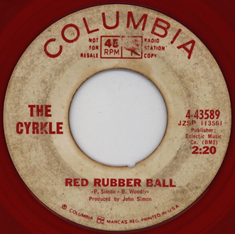 CYRKLE,RED_RUBBER_BALL,PSYCHEDELIC-ROCKNROLL,1966,BEATLES,EPSTEIN,DAWES,DANNEMANN,COLUMBIA,JAPANESE,_SINGLE_PROMO