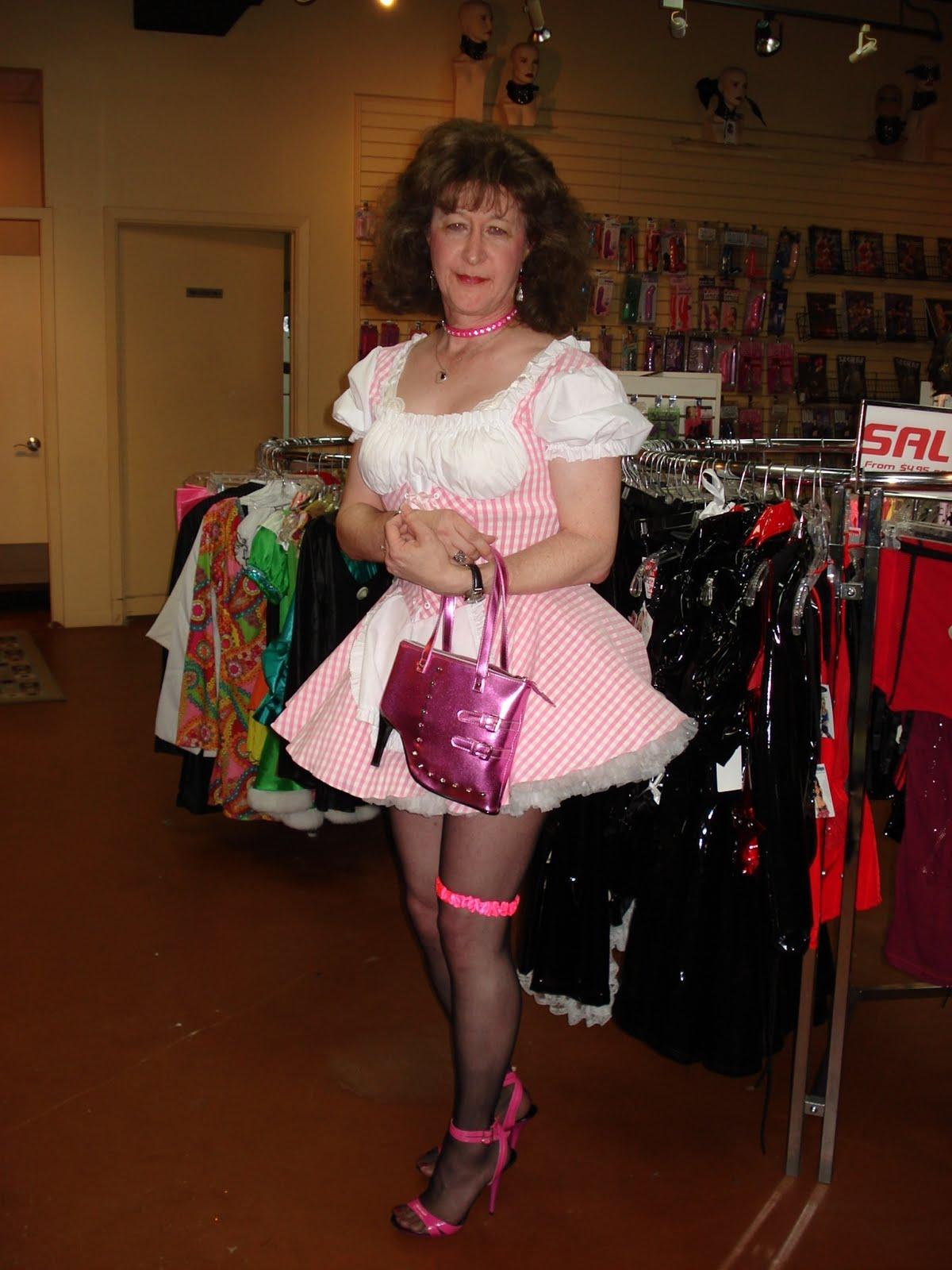 Sissy shopping humiliation