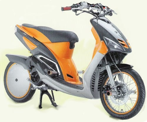 Modifikasi Yamaha Mio Motor Matic