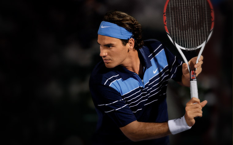 Roger Federer Playing Style