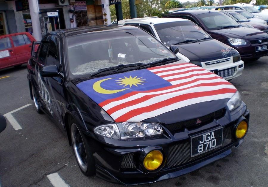 Car Info: Proton Wira Evo body kit