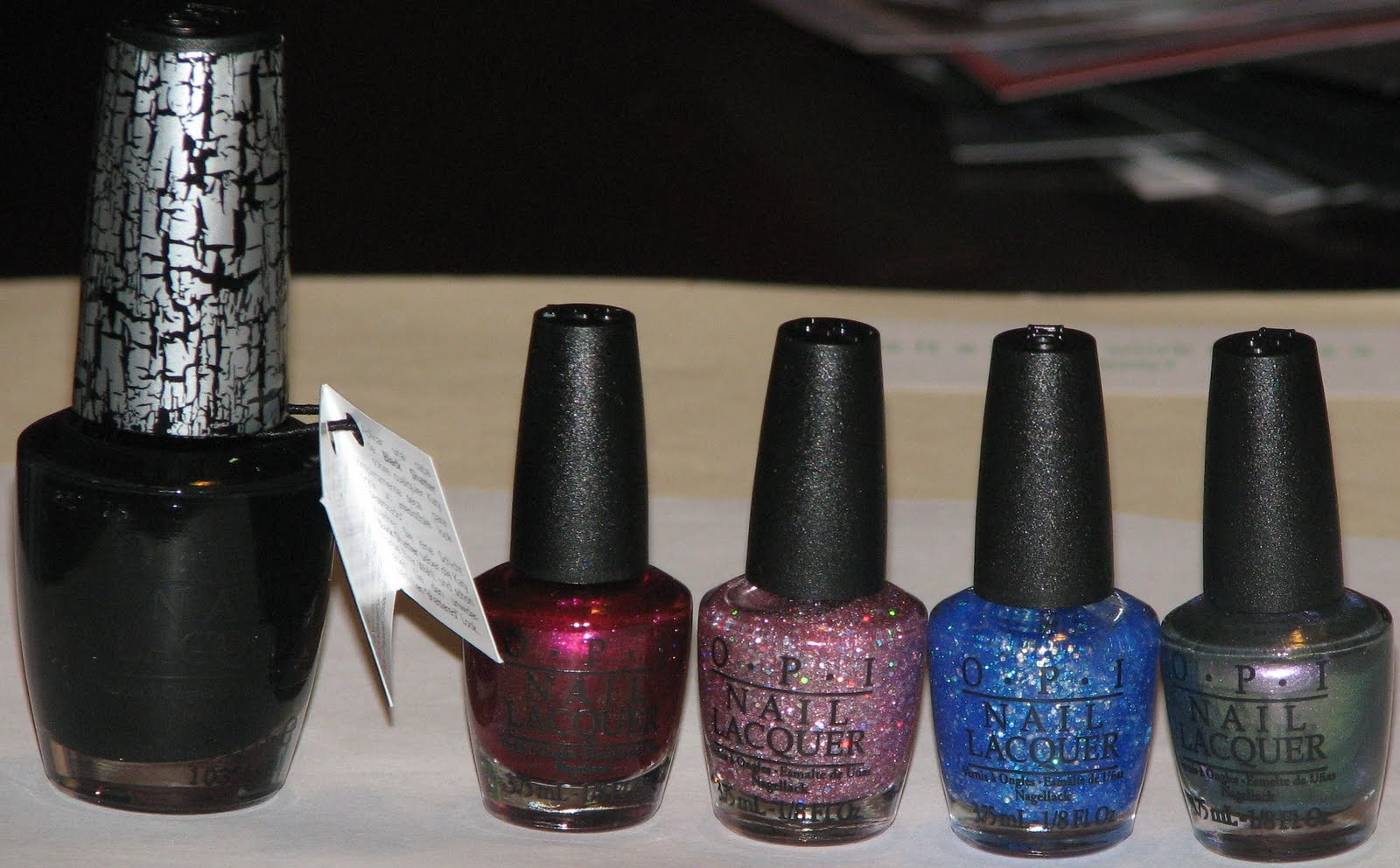 OPI Katy Perry Collection Swatches & Review - Blushing Noir