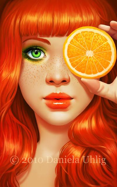 Red Orange by Danela Uhlig