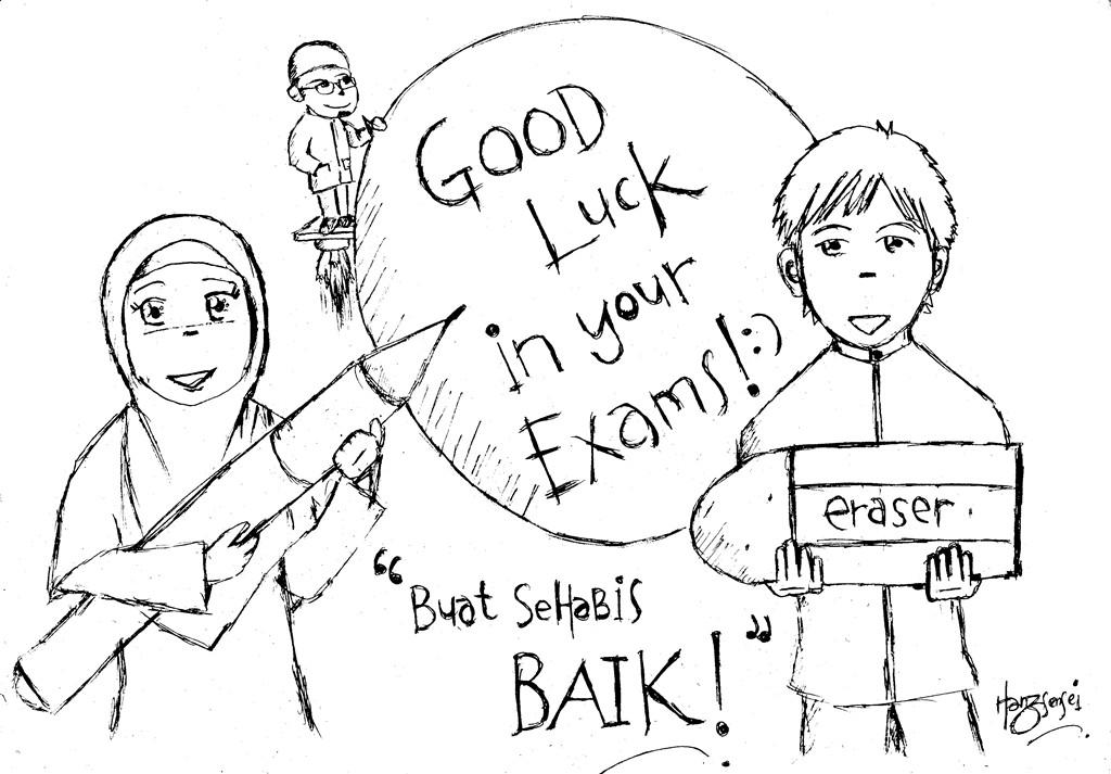 Sketch of Life by HanzSensei™: Semoga Sukses~