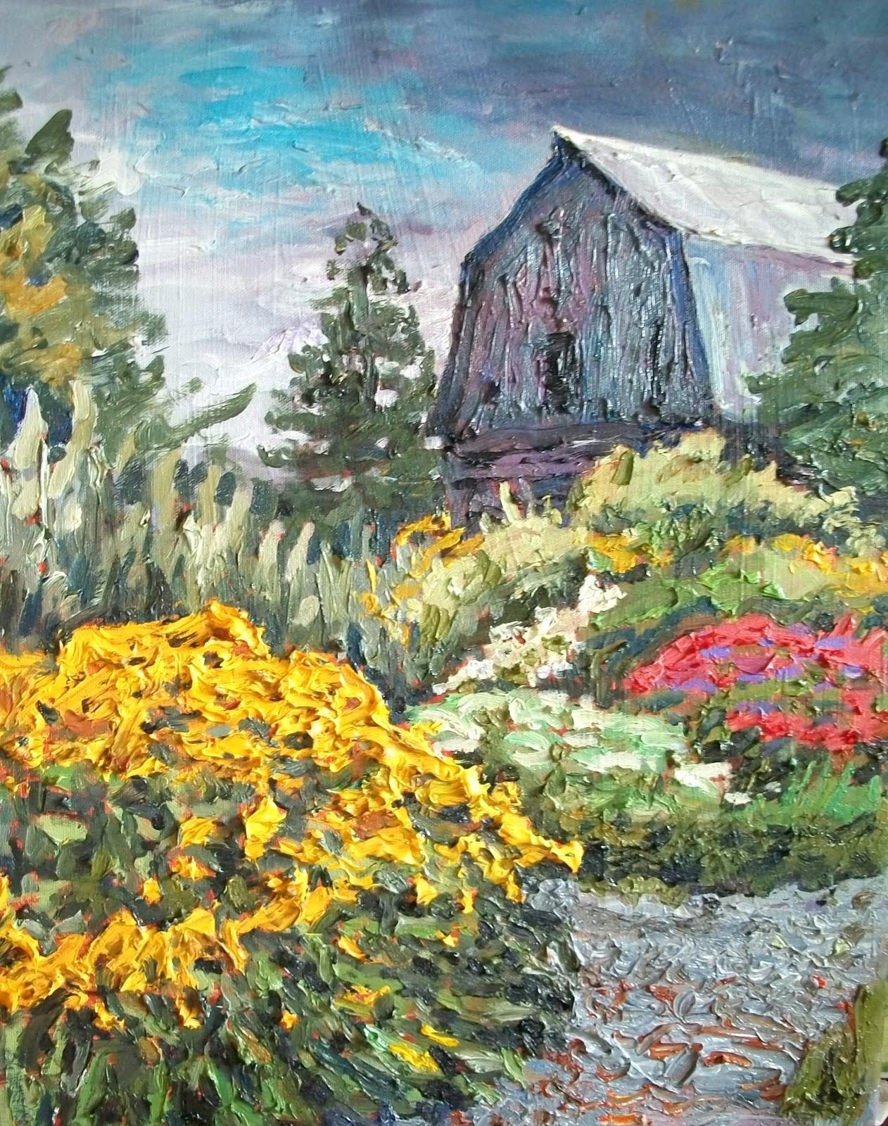 paul smith alice 39 s flower garden and barn. Black Bedroom Furniture Sets. Home Design Ideas