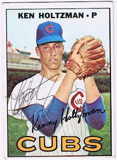 Dugoutdug Sports 1967 Topps Ken Holtzman Chicago Cubs