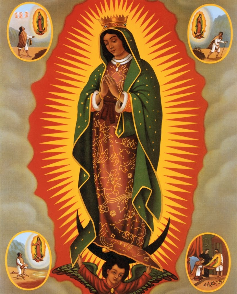 Caput Mundi: Our Lady of Guadalupe-Nuestra Señora de Guadalupe