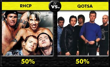 The Red Hot Chili Peppers vs. Queens Of The Stone Age