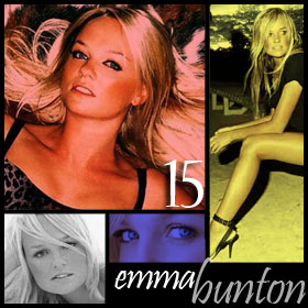 Emma Bunton Baby Spice makes me think of cotton candy