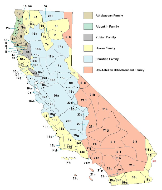 Ernie S Place California Indian Tribes In Pre History