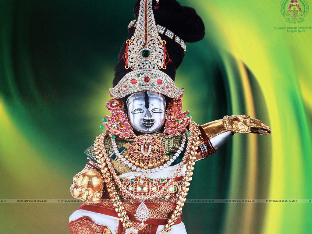 FREE God Wallpaper: Lord Srinivasa Wallpapers