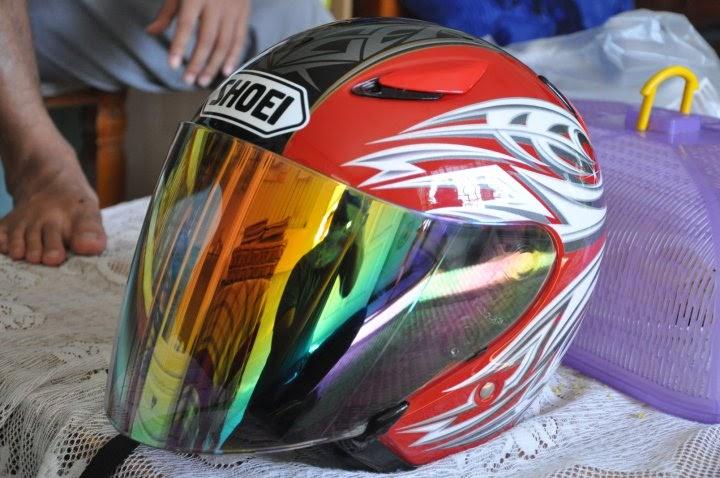 Helmet Japan Shoei Jstream Polaris Visor Rainbow