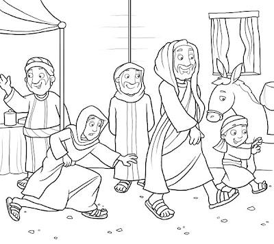 Ministério Infantil Kids 4 God: Jesus cura mulher do fluxo
