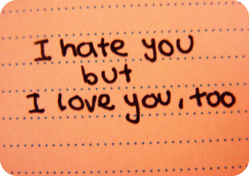 I Hate You Quotes And Sayings: I Hate You But I Love You Quotes. QuotesGram