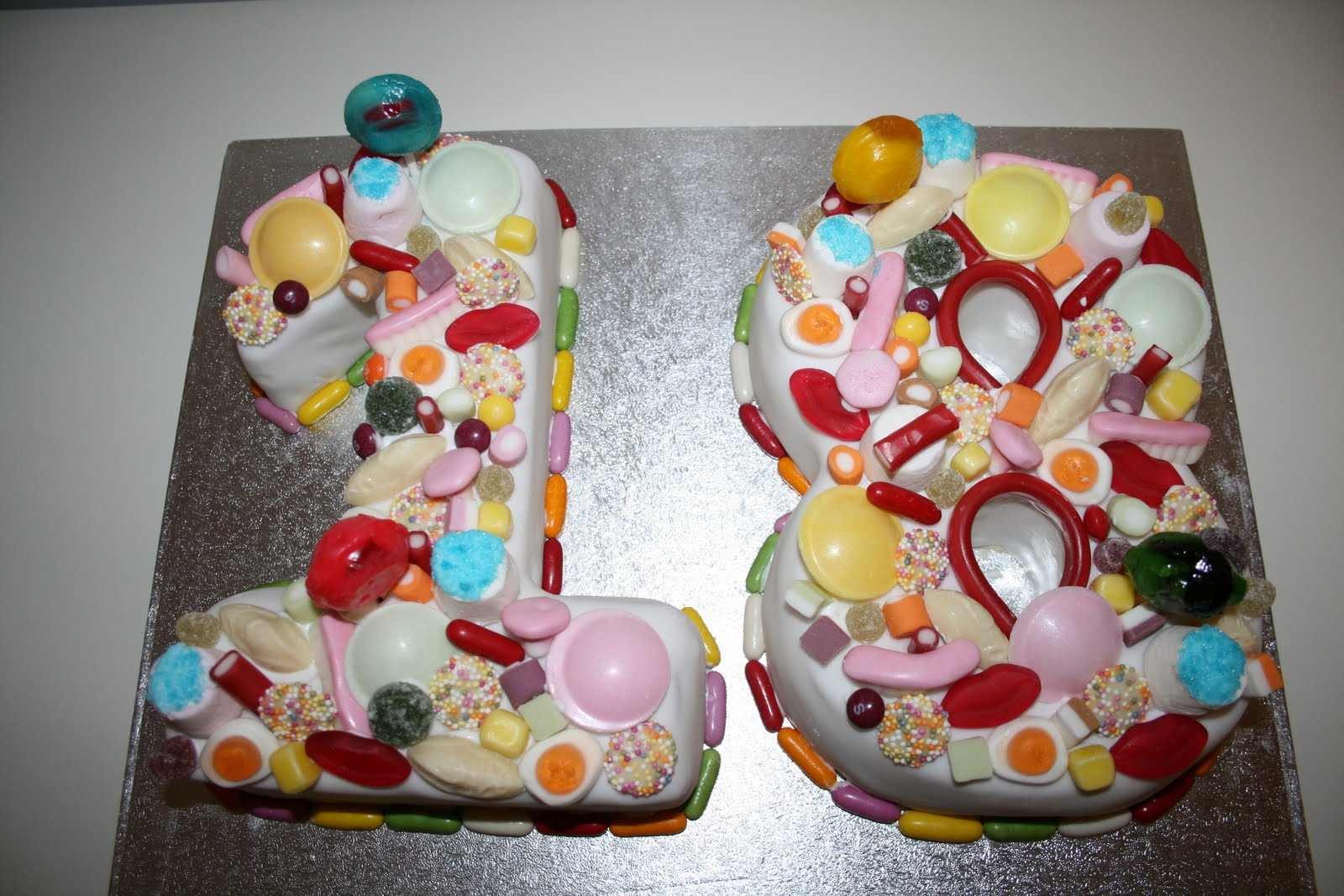 Special Occasion Cakes Old Skool Sweets 18th Birthday Cake