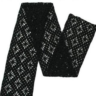 Mens Winter Scarf Pattern  Free Crochet Pattern for a Mans Crochet Scarf For Men Free Pattern