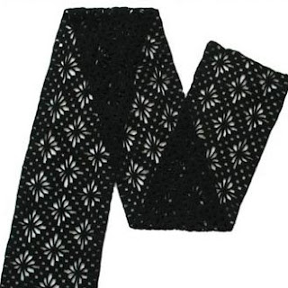 Mens Winter Scarf Pattern  Free Crochet Pattern for a Mans Crochet Scarves For Men