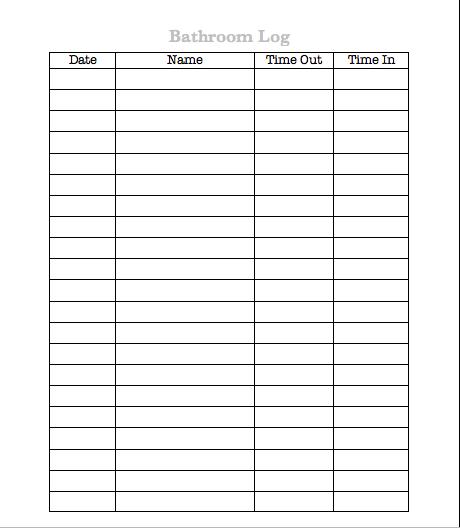bathroom cleaning log sheet template just b cause restroom inspection checklist restroom inspection kit