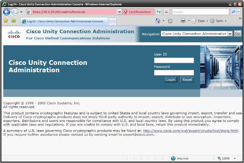 CCIE 12932: Unity Connection-CUCME Lab 3 – Unity Connection