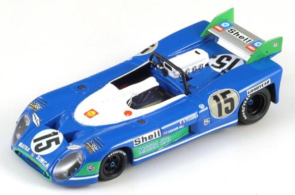 oud race blauw