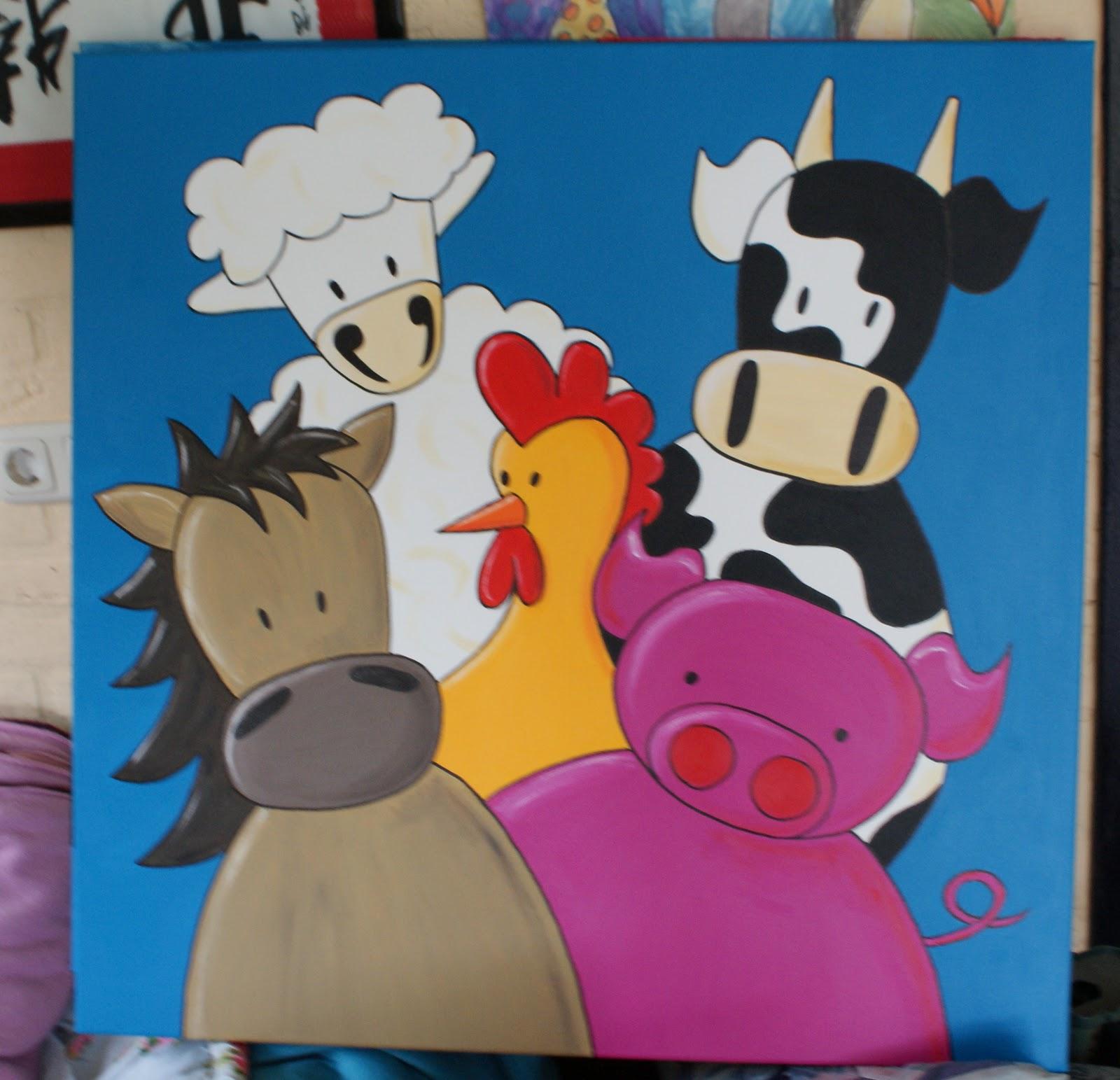 Bekend 8r1id & Bobbeez; wat is nieuw deze maand?: Schilderijen &KE69