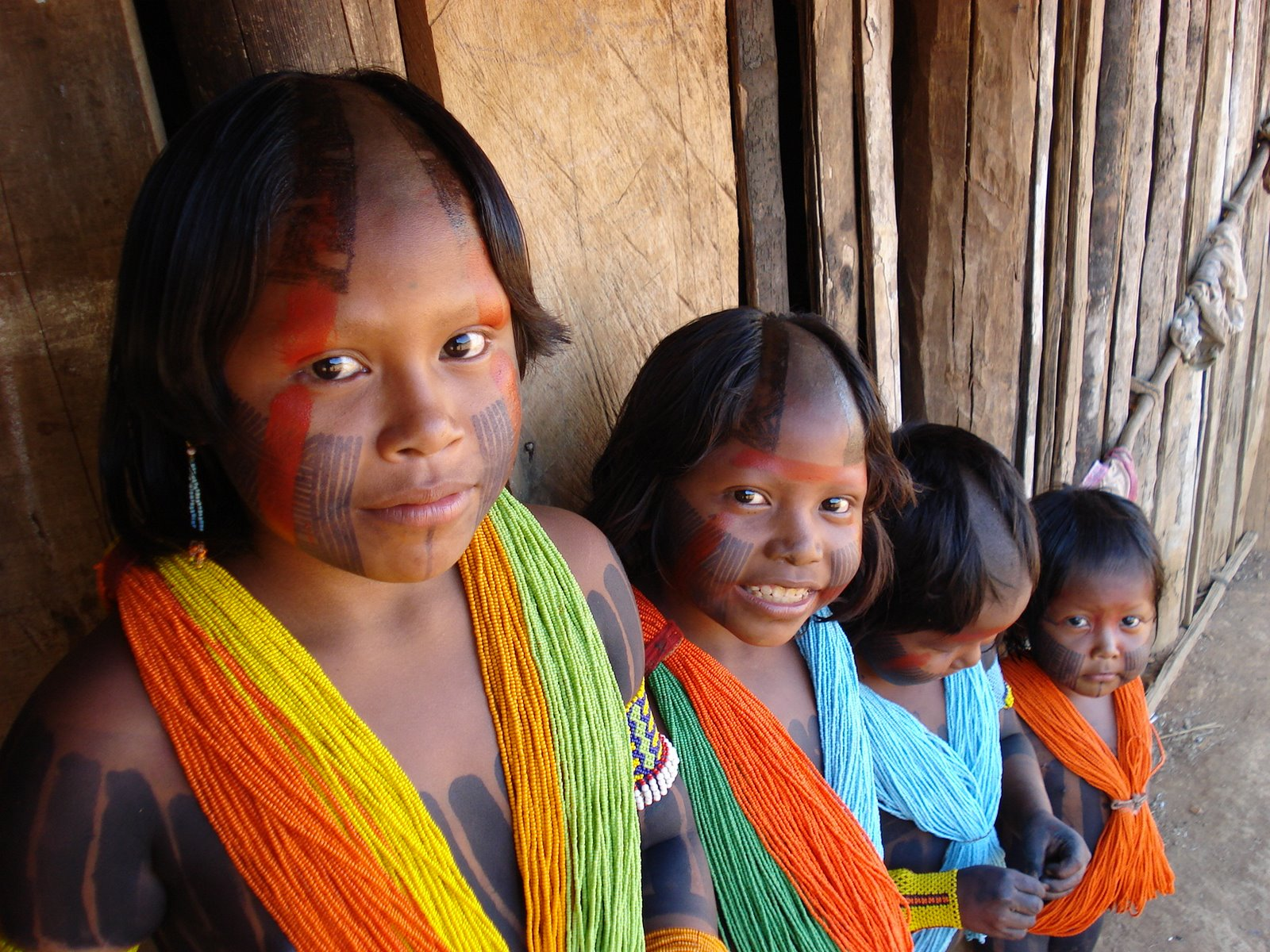 indigenous children of brazil