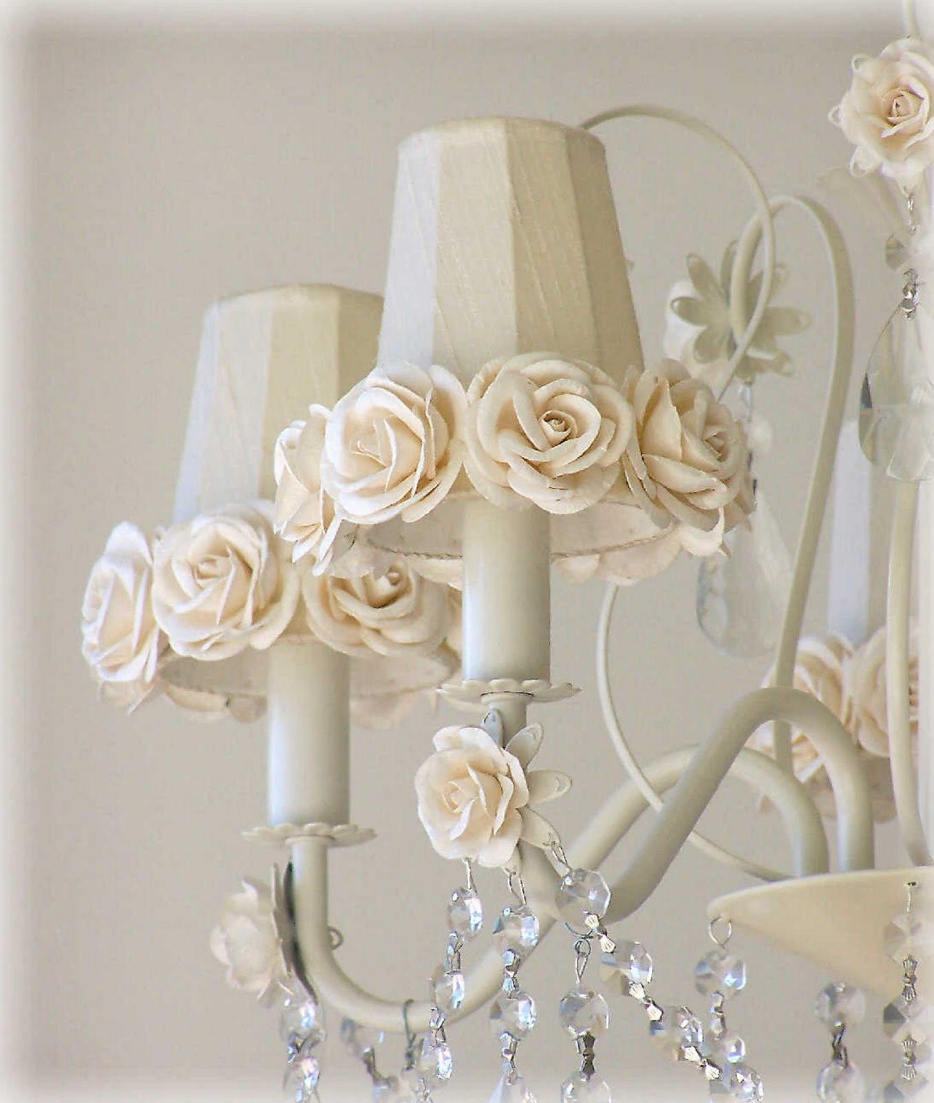 Trendy Chandeliers: Lavender Fields A Lifestyle Store: New Shabby Romantic