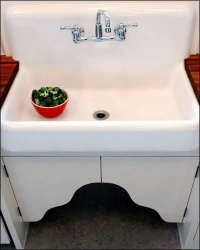 Kitchen Sink Vintage Design Photos