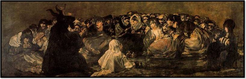 GOYA+PINTURAS+NEGRAS+EL+AQUELARRE - Las Pinturas negras de Francisco de Goya