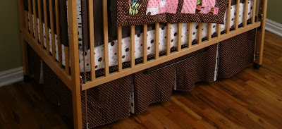 A Load Of Craft Tutorial How To Make A Crib Skirt