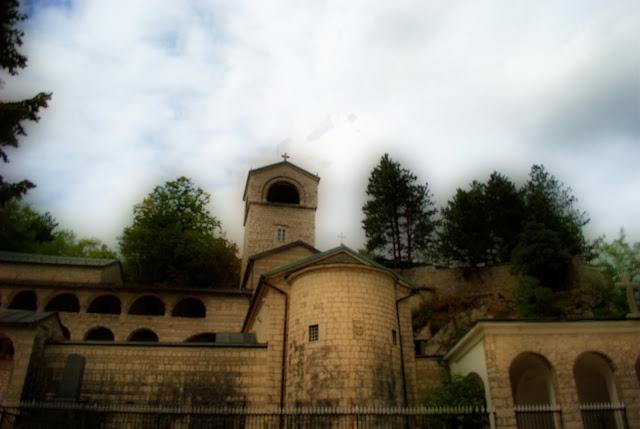 Монастырь в Цетине