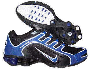 best place on sale factory outlets nike chaussures: Nike Shox Magasin,Homme Running Chaussure Noir Bleu