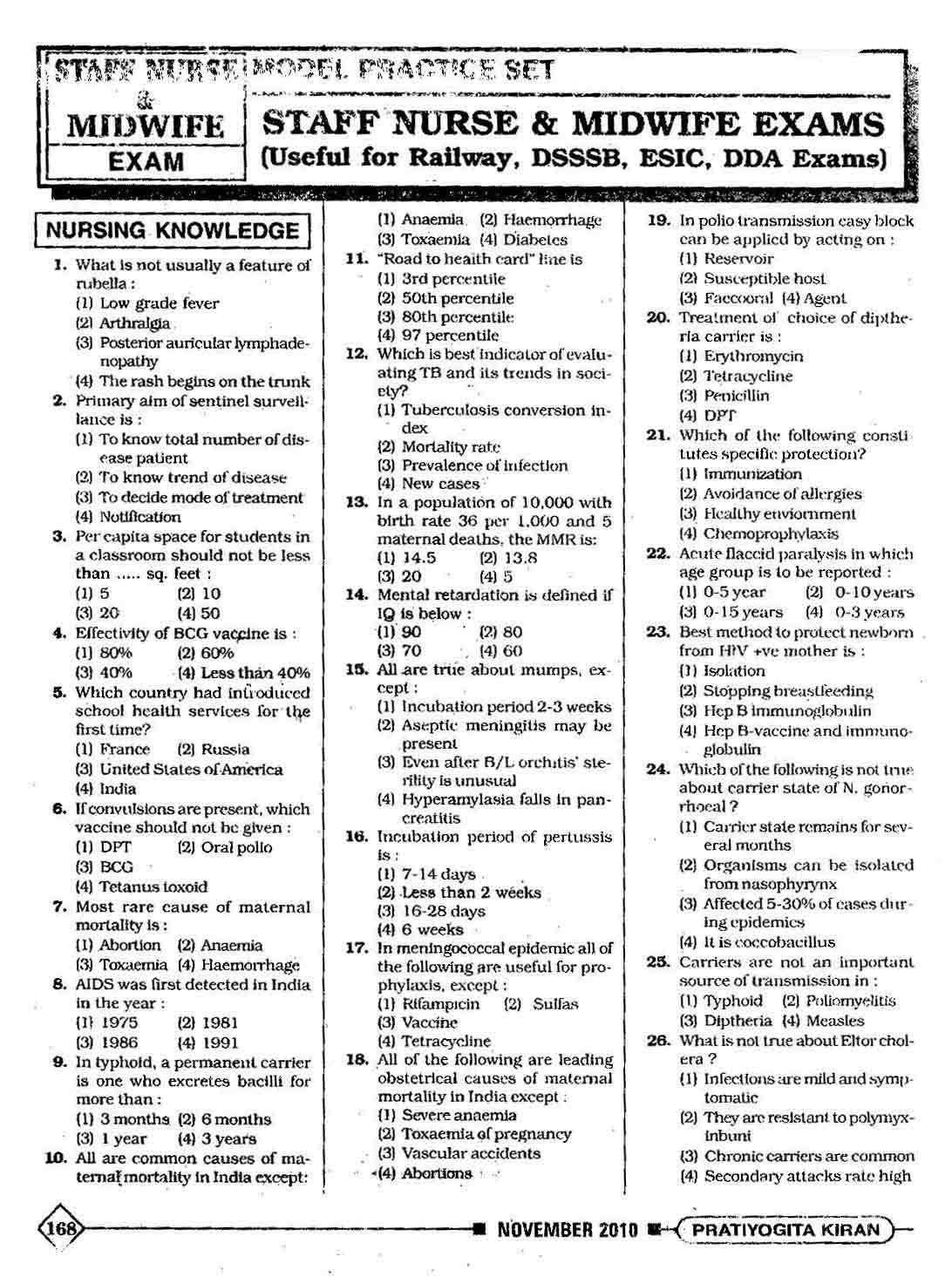 pratiyogita k for % off online book store k prakashan staff nurse and midwife exams model practice sets