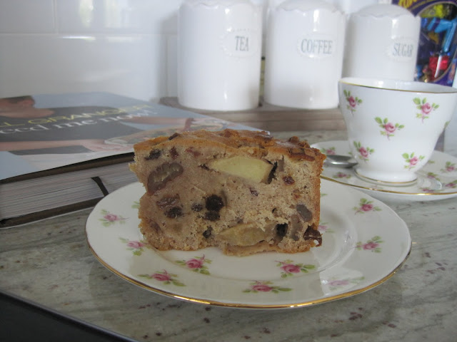 Bill Granger's Apple Fruit Cake, Recipe, Natasha in Oz