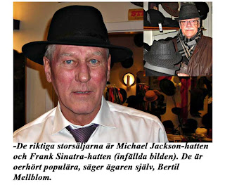 Vi får en snabb grundkurs i hattens mysterium. Han bekräftar också hattens  comeback efter 40 år i glömskan. -Det är mycket artisternas förtjänst. 9e8b9f894bb51