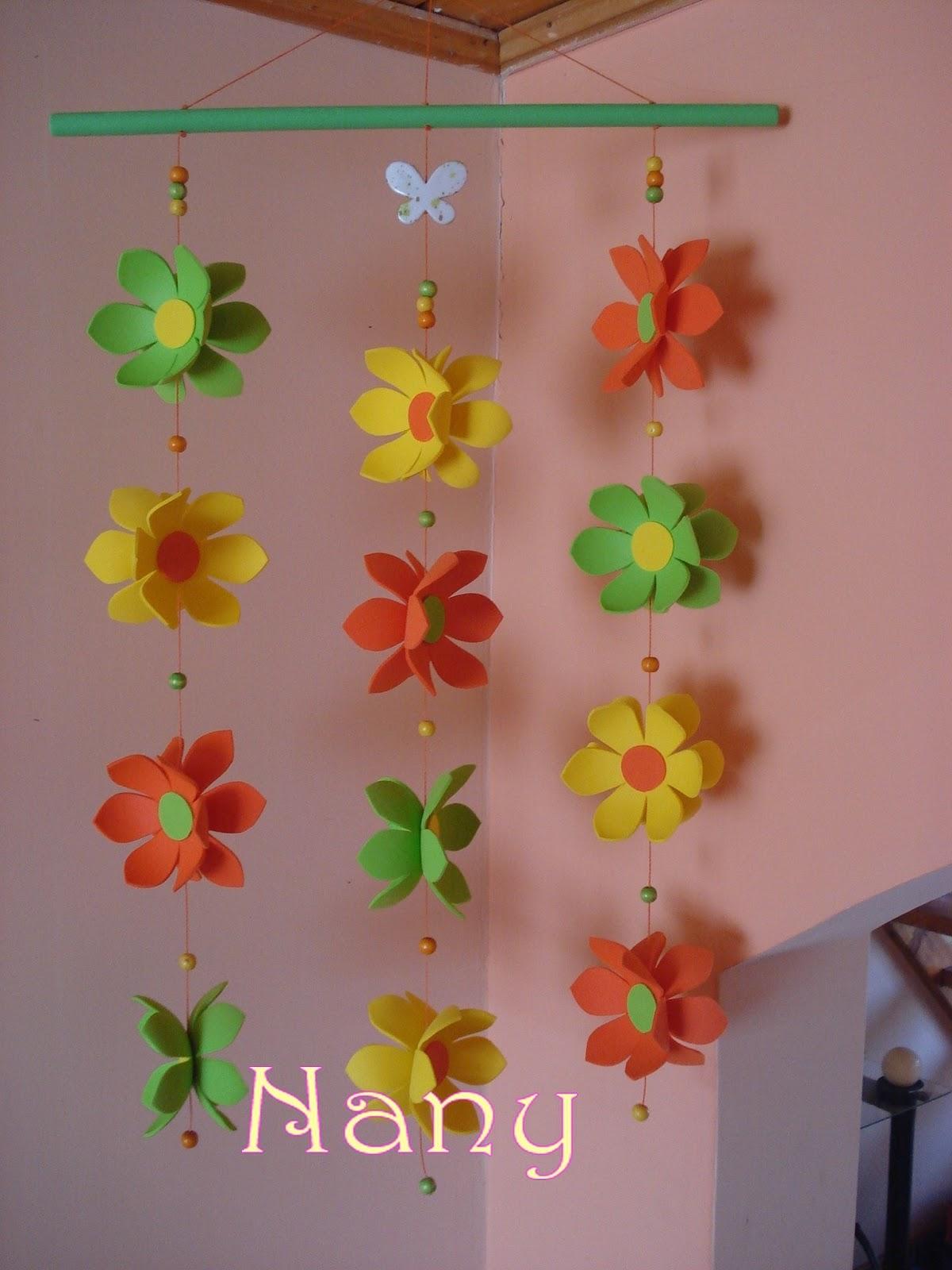 El arcoiris de Nany Decoracin con Goma Eva