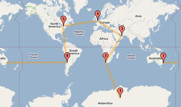 ruta maratones