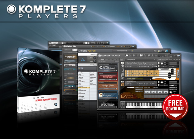 KoreAudio: Native Instruments Komplete 7 Players - for free!