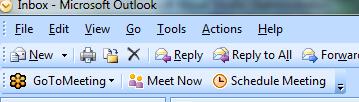 Microsoft Application Development: Gotomeeting Outlook Plugin
