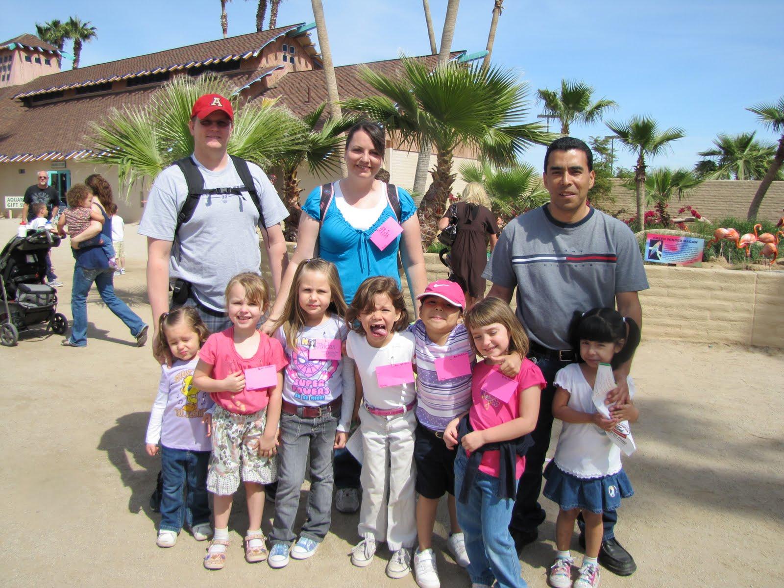 Fallstrom Family Kindergarten Field Trip