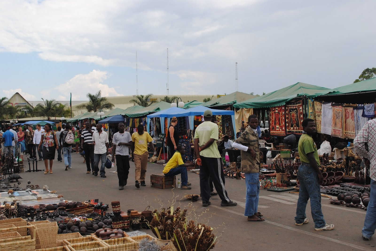 Lubuto Library Project, Lusaka, Zambia: Outdoor Market and ...