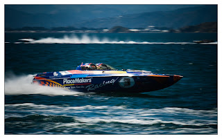 Offshore Powerboats on Wellington Harbour | David St George