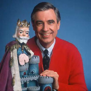 Mr. Rogers and the good King Friday: make-believe we arent at the bottom of the table