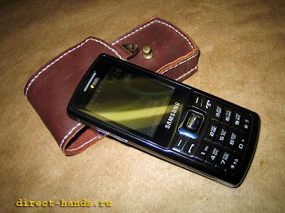 Самодельный чехол для сотового телефона фото 1