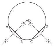 CBSE Class IX NCERT solutions of Mathematics chpater Circles